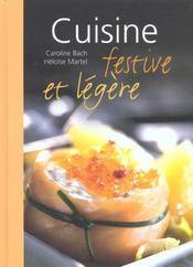 Cuisine Festive Et Legere - Intérieur - Format classique
