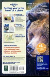 Yellowstone & grand teton national parks (5e édition) - 4ème de couverture - Format classique