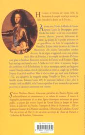 Louis et marie-adelaide de bourgogne la vertu et la grace - 4ème de couverture - Format classique