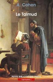 Le Talmud - Couverture - Format classique