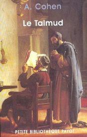 Le Talmud - Intérieur - Format classique