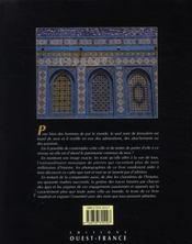 Jérusalem - 4ème de couverture - Format classique
