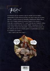 Krän le barbare T.7 ; la princesse de Mormoille - 4ème de couverture - Format classique