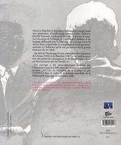 Emmanuel Lévinas, Maurice Blanchot : penser la différence - 4ème de couverture - Format classique