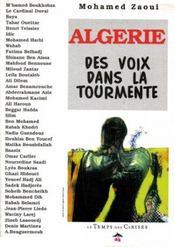 Algerie - des voix dans la tourmente - Intérieur - Format classique
