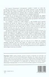 L Ombre Du Pere Dans La Litterature Anglo-Saxonne Contemporaine - 4ème de couverture - Format classique