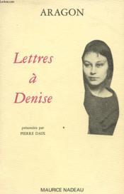 Lettres à Denise - Couverture - Format classique