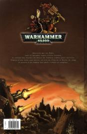 Warhammer 40.000 T.4 ; le clan des Orks - 4ème de couverture - Format classique