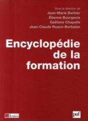 Encyclopédie de la formation - Couverture - Format classique