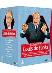 L'Essentiel De Louis De Funès - Coffret 8 Dvd - Couverture - Format classique