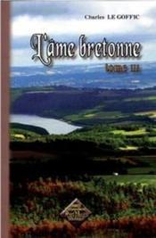 L'âme bretonne t.3 - Couverture - Format classique