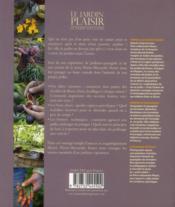 Le jardin plaisir de Pierre-Alexandre - 4ème de couverture - Format classique