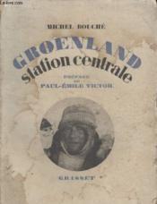 Groenland Station Centrale. - Couverture - Format classique
