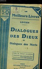 Dialogues Des Dieux - Dialogues Des Morts - Couverture - Format classique