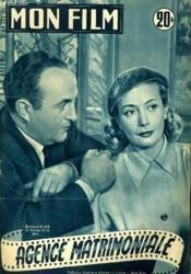 Mon Film N° 323 - Agence Matrimoniale - Couverture - Format classique