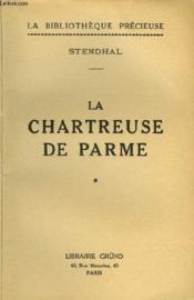 La Chartreuse De Parme - Tome 1 - Couverture - Format classique