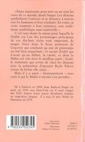 Le beau monsieur de Cracovie - 4ème de couverture - Format classique