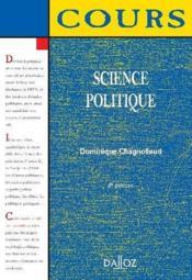 SCIENCE POLITIQUE (6e edition) - Couverture - Format classique