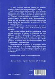 La bataille du grec à la Renaissance - 4ème de couverture - Format classique