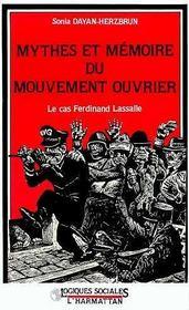 Mythes Et Memoires Du Mouvement Ouvrier - Intérieur - Format classique