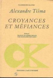 Croyances Et Mefiances - Couverture - Format classique