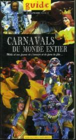 Les carnavals du monde entier - Couverture - Format classique
