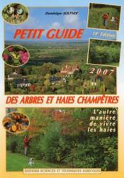 Petit guide des arbres et haies champêtres - Couverture - Format classique