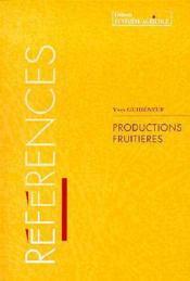 Les productions frutieres - Couverture - Format classique