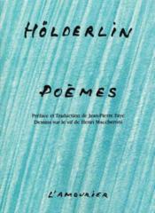 Poemes holderlin - Couverture - Format classique