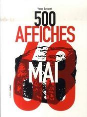 Les 500 affiches de mai 68 - Intérieur - Format classique