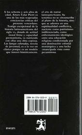 Las lanzas coloradas (Letras Hispánicas) - 4ème de couverture - Format classique