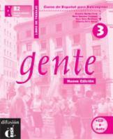 Gente 3 Nueva Edicion Libro Del Trabajo + Cd - Couverture - Format classique