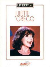 Juliette Greco - Couverture - Format classique