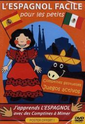 L'espagnol facile pour les petits - Couverture - Format classique