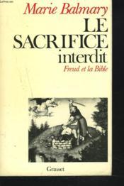 Le sacrifice interdit - Couverture - Format classique