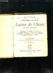 L ENSEIGNEMENT PAR L IMAGE. LECONS DE CHOSES EN 650 GRAVURES. 12em EDITION. - Couverture - Format classique