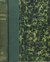 LAVAL PARLE... Notes et mémoires rédigés à Fresnes d'ao t à octobre 1945, préface de sa fille, Mme Josée Laval de Chabrun. - Couverture - Format classique