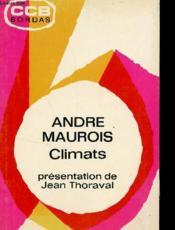 Climats (Extraits) / Collection Ccb Bordas. - Couverture - Format classique