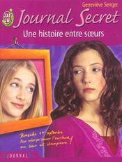 Journal secret t9 - une histoire entre soeurs - Intérieur - Format classique