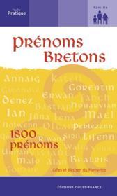 Prenoms brétons - Couverture - Format classique