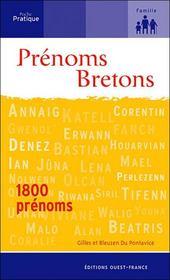 Prenoms brétons - Intérieur - Format classique