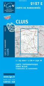 Cluis - Couverture - Format classique