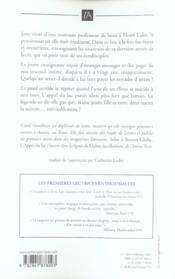 L'Appel Du Lac - 4ème de couverture - Format classique