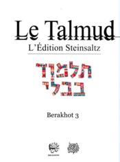 Talmud ; Babli Taanit t.7 - Couverture - Format classique