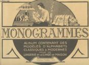 Lettres Et Monogrammes. Regroupe Les 5 Albums Du Numero 1 Au Numero 5 - Couverture - Format classique