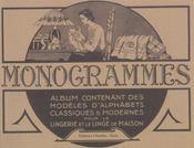 Lettres Et Monogrammes. Regroupe Les 5 Albums Du Numero 1 Au Numero 5 - Intérieur - Format classique