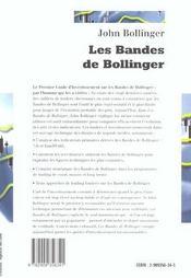Les bandes de bollinger - 4ème de couverture - Format classique