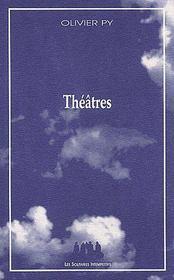 Théâtres - Couverture - Format classique