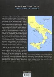 Italie Terre De Creation T.2 ; De La Parole A La Creation Artistique. L'Italie Et La Sicile Grecque - 4ème de couverture - Format classique