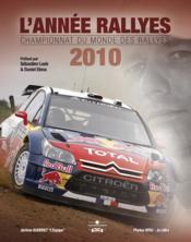 L'année rallyes (édition 2010) - Couverture - Format classique